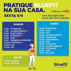 Ofertas Esporte e Fitness no catálogo Bluefit em Rio de Janeiro ( Vence hoje )