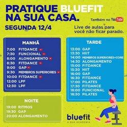 Ofertas Esporte e Fitness no catálogo Bluefit em Guarulhos ( Válido até amanhã )