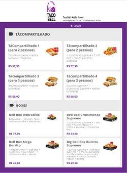 Ofertas Restaurantes no catálogo Taco Bell em Diadema ( Publicado a 2 dias )
