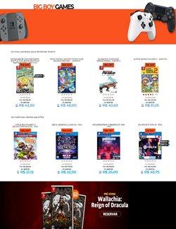 Ofertas Tecnologia e Eletrônicos no catálogo Big Boy Games em Diadema ( 8 dias mais )
