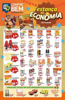Ofertas de Supermercados no catálogo Supermercados Compre Bem (  Vence hoje)