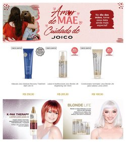 Ofertas Perfumarias e Beleza no catálogo Joico em Jaboatão dos Guararapes ( Publicado hoje )