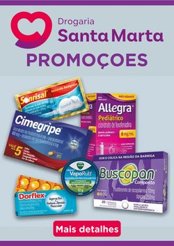 Ofertas de Drogaria Santa Marta no catálogo Drogaria Santa Marta (  Publicado hoje)