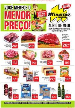 Ofertas de Mineirão Atacarejo no catálogo Mineirão Atacarejo (  Vence hoje)