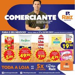 Ofertas de Supermercados no catálogo Raiz Superatacado (  Publicado hoje)