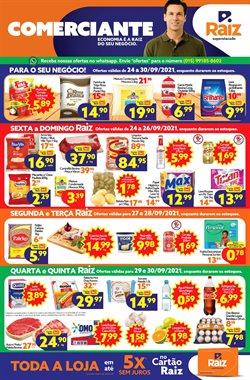 Ofertas de Supermercados no catálogo Raiz Superatacado (  3 dias mais)