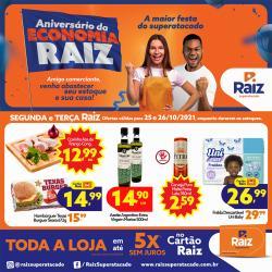 Ofertas de Supermercados no catálogo Raiz Superatacado (  Válido até amanhã)