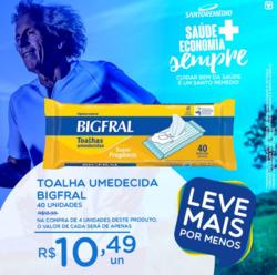Promoção de Drogarias Santo Remédio no folheto de Manaus