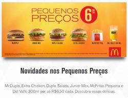 Promoção de Restaurantes, lanchonetes no folheto de McDonald's em São Carlos