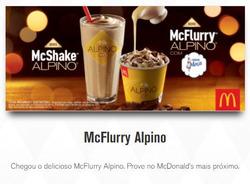 Promoção de McDonald's no folheto de São José