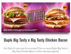Promoção de McDonald's no folheto de Lauro de Freitas