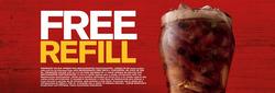 Promoção de McDonald's no folheto de Salvador