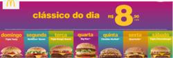 Promoção de McDonald's no folheto de São Paulo