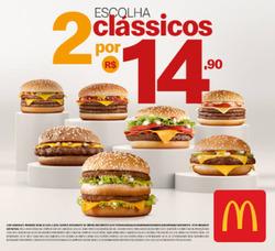 Promoção de Restaurantes, lanchonetes no folheto de McDonald's em Guarulhos