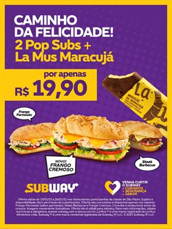 Catálogo Subway em São João de Meriti ( Vencido )