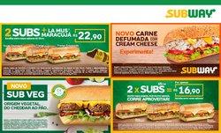 Ofertas Restaurantes no catálogo Subway em Fortaleza ( Mais de um mês )
