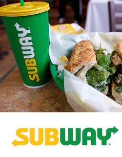 Ofertas de Restaurantes no catálogo Subway (  Vence hoje)