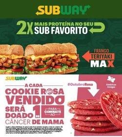 Catálogo Subway (  3 dias mais)