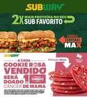 Catálogo Subway ( 2 dias mais )