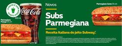 Promoção de Subway no folheto de São Paulo