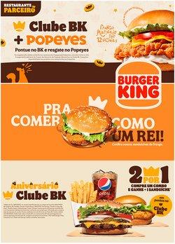 Catálogo Burger King (  Publicado hoje)