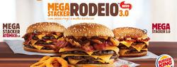Promoção de Burger King no folheto de São Paulo