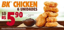 Promoção de Burger King no folheto de São Carlos