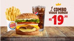 Promoção de Restaurantes, lanchonetes no folheto de Burger King em Aracaju