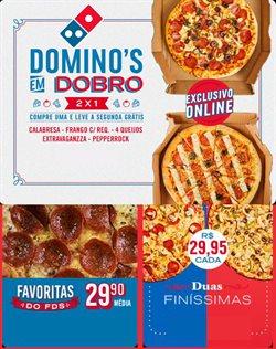 Ofertas Restaurantes no catálogo Domino's Pizza em Rio de Janeiro ( 3 dias mais )