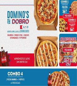 Ofertas Restaurantes no catálogo Domino's Pizza em São Paulo ( 3 dias mais )