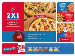 Ofertas Restaurantes no catálogo Domino's Pizza em Fortaleza ( 15 dias mais )