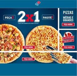 Ofertas de Domino's Pizza no catálogo Domino's Pizza (  3 dias mais)
