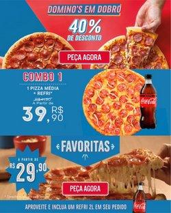 Catálogo Domino's Pizza (  Vence hoje)