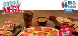 Promoção de Domino's Pizza no folheto de Rio de Janeiro