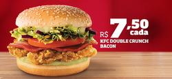 Promoção de KFC no folheto de Rio de Janeiro