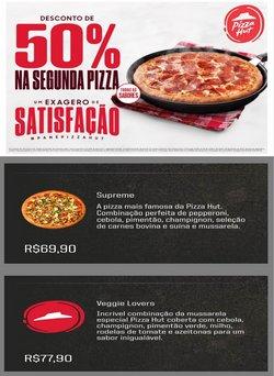 Ofertas Restaurantes no catálogo Pizza Hut em Mauá ( Publicado ontem )
