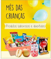 Promoção de Dia das Crianças no folheto de Zona Sul em São Paulo