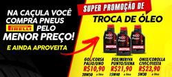 Promoção de Caçula de Pneus no folheto de São Paulo