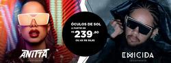 Promoção de Shopping Studio Cinco no folheto de Chilli Beans em Manaus