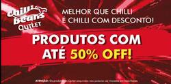 Promoção de Chilli Beans no folheto de Brasília