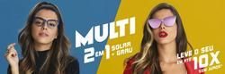 Promoção de Óticas e centros auditívos no folheto de Chilli Beans em Anápolis