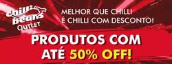 Promoção de Óticas e centros auditívos no folheto de Chilli Beans em Curitiba