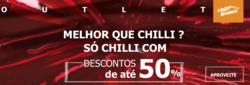 Promoção de Óticas e centros auditívos no folheto de Chilli Beans em Uberlândia