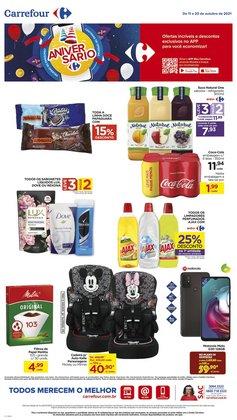 Ofertas de Farmácias e Drogarias no catálogo Drogarias Carrefour (  Vence hoje)