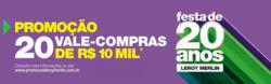 Promoção de Leroy Merlin no folheto de Curitiba