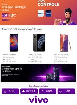Ofertas de Tecnologia e Eletrônicos no catálogo Vivo (  2 dias mais)