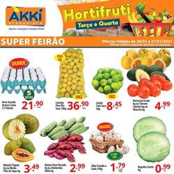 Ofertas Supermercados no catálogo Akki Atacadista em Diadema ( Vence hoje )
