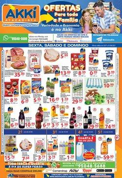 Ofertas de Supermercados no catálogo Akki Atacadista (  Publicado hoje)