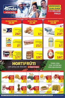 Ofertas de Supermercados no catálogo Tenda Atacado (  Publicado hoje)