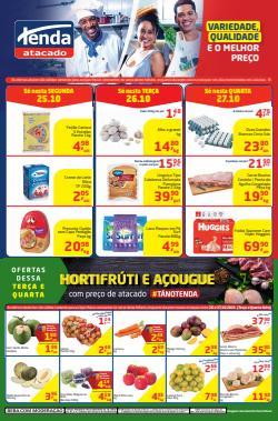 Ofertas de Supermercados no catálogo Tenda Atacado (  Vence hoje)